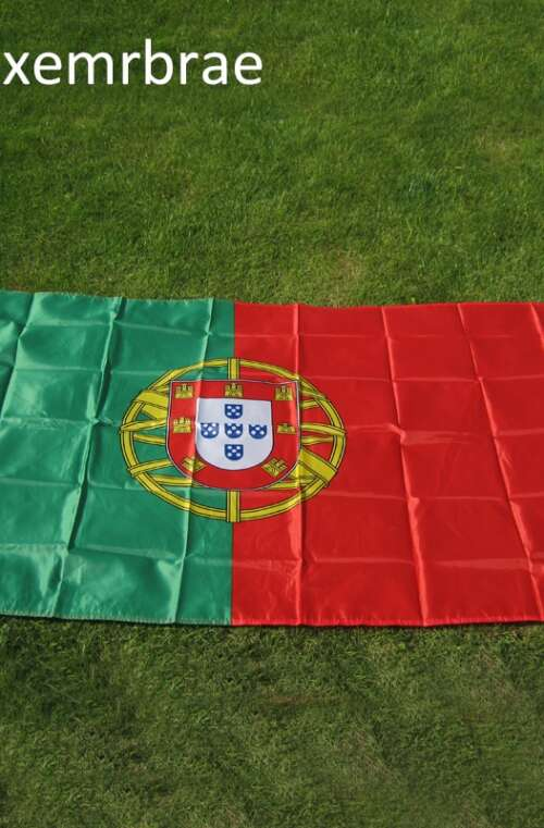Portugals Flagga (90cm x 150cm)