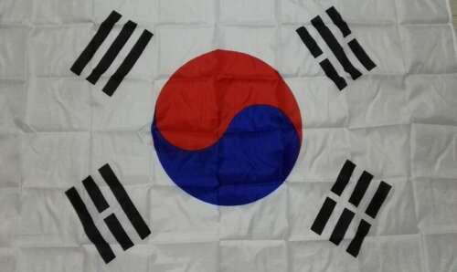 Sydkoreas Flagga (90cm x 150cm)